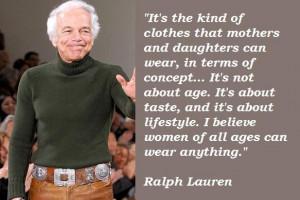 Ralph lauren famous quotes 5