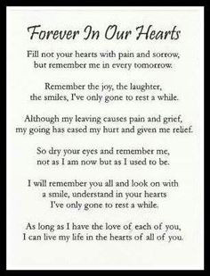Rip Brother Quotes Tumblr ~ In my heart forever brother RIP Jorge on ...