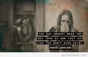 Top ex-girlfriend quotes sayings on images