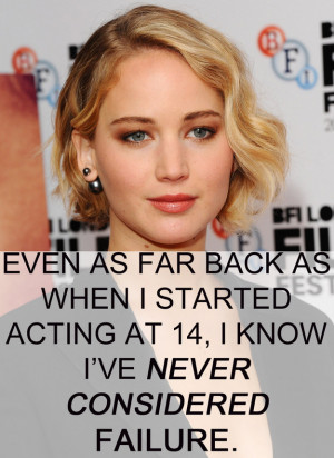 ... Inspiring Jennifer Lawrence Quotes Every Girl Should Live Her Life By