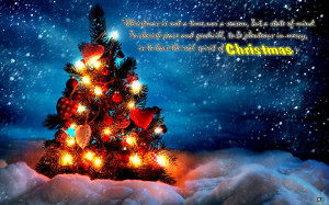 Beautiful Christmas Tree greetings quotes Christian Christmas Quotes ...