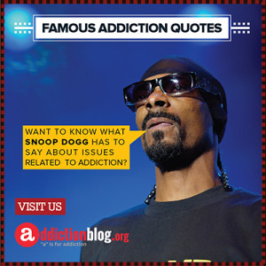 Snoop Dogg on drugs and smoking marijuana (INFOGRAPHIC)