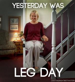 Funny Leg Workout Memes