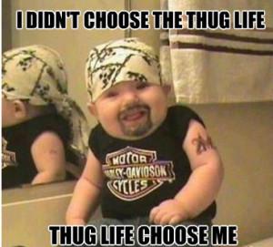 Thug Life Quotes Funny When thug life chooses you.
