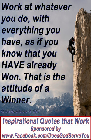 Winning Attitude Quotes And Sayings