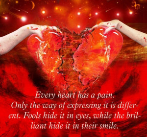 heart and pain quote | Full heart and pain wall | heart pain quote ...