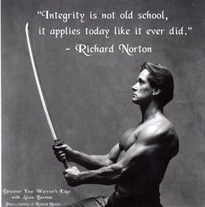 ... quotes | Integrity and Character Development in the Martial Arts