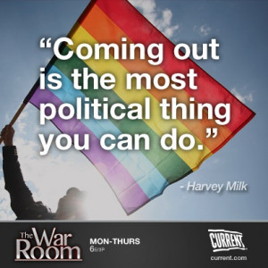 Harvey Milk Quotes On Equality In honor of harvey milk day, here's our ...