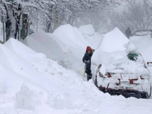 January 2013 New England snow Storm.