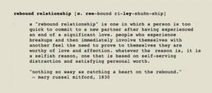 Relationship Rebound