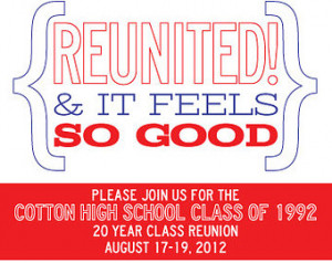 Go Back > Pix For > 10 Year Reunion Quotes