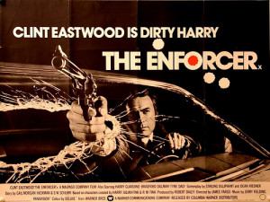 THE ENFORCER UK Quad Style A (1977) Clint Eastwood