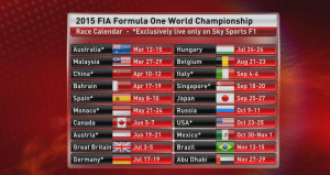 ... 2015 calendario formula 1 2015 quote vincente f1 2015 vincente formula