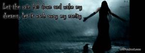 Sad Rain Quotes http://www.851facebook.com/quotes19.php