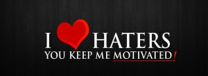 Love Haters Facebook Timeline Covers