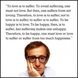 Film Director Quote – Woody Allen – Movie Director Quote # ...