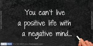 Positive Quotes About Negative People