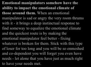 Narcissist Manipulative Tactic