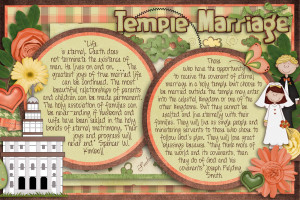 Young Women Manual 3 Lesson 18: Temple Marriage
