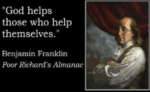 Helping The Poor Quotes Ben franklin quote in poor