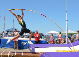so close to my goals, I can almost pole vault over the goal post