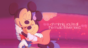 mickey mouse and minnie mouse love quotes - Căutare Google