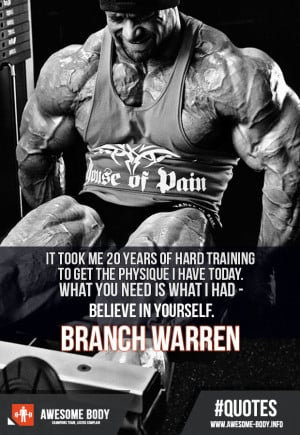 Branch Warren Motivational Quotes | Believe In Yourself | Best Quotes