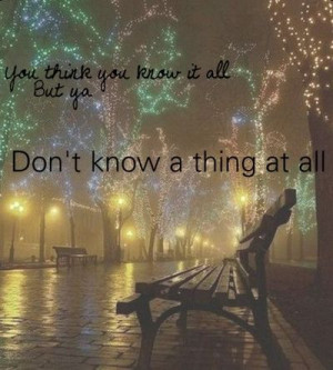 Kelly Clarkson - Mr Know-It-All