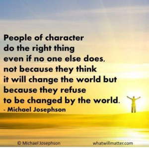 Quotes About Doing Right