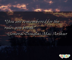 Remembered Quotes
