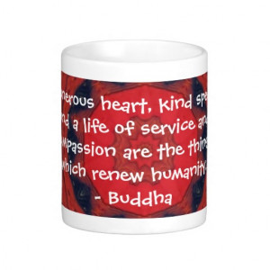 Buddha compassion QUOTE QUOTATION Coffee Mug