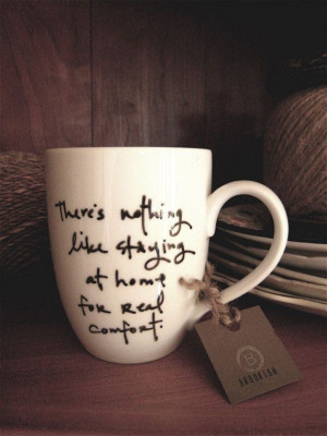 Jane Austen Quote Mug by Brookish good idea!