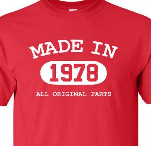 ... 37th 36th Birthday Gift Funny Shirt Custom Personalized Birthday