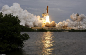 NASA Space Shuttle Atlantis Final Launch at Kennedy Space Center