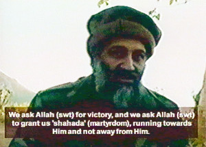 Osama bin Laden had frequently publicized al-Qaeda's plans in videos ...