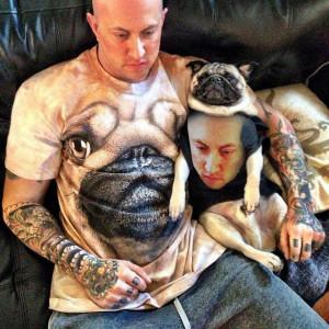 Pug shirt face swap