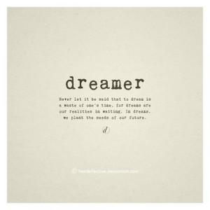 You may say I'm a dreamer, but I'm not the only one