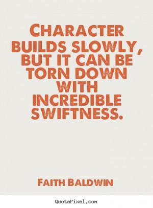 ... faith baldwin more friendship quotes success quotes motivational