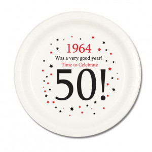 50th Birthday Party Favors | ... larger picture of 1964 - 50TH ...