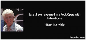 More Barry Bostwick Quotes