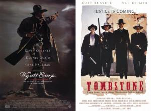 Wyatt Earp & Tombstone Movie Posters