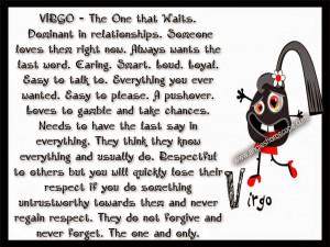 Virgo #FunnyFacts