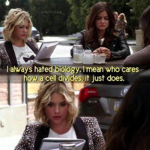 S3 E17 - Hanna - I always hated biology, I mean who cares how a cell ...