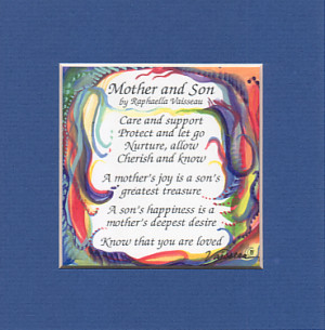 mother and son quote 5x5 rv