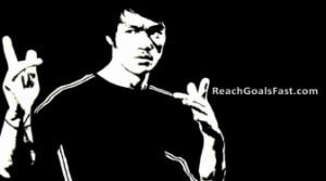 Bruce Lee Focus Quote
