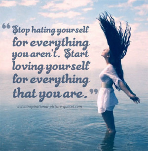 Love Yourself Beautiful Quote