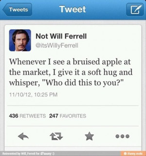 will ferrel tweets funny twitter quotes jpg