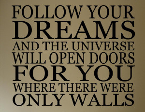Follow Your Dreams – No Matter How Crazy they Are!