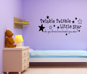 ... -Twinkle-Little-Star-Nursery-Wall-Sticker-Quote-Girl-Boy-Baby-Room