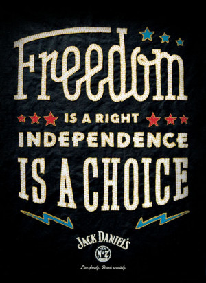 Jack Daniel's Is Back With More Patriotic Posters Another independence ...